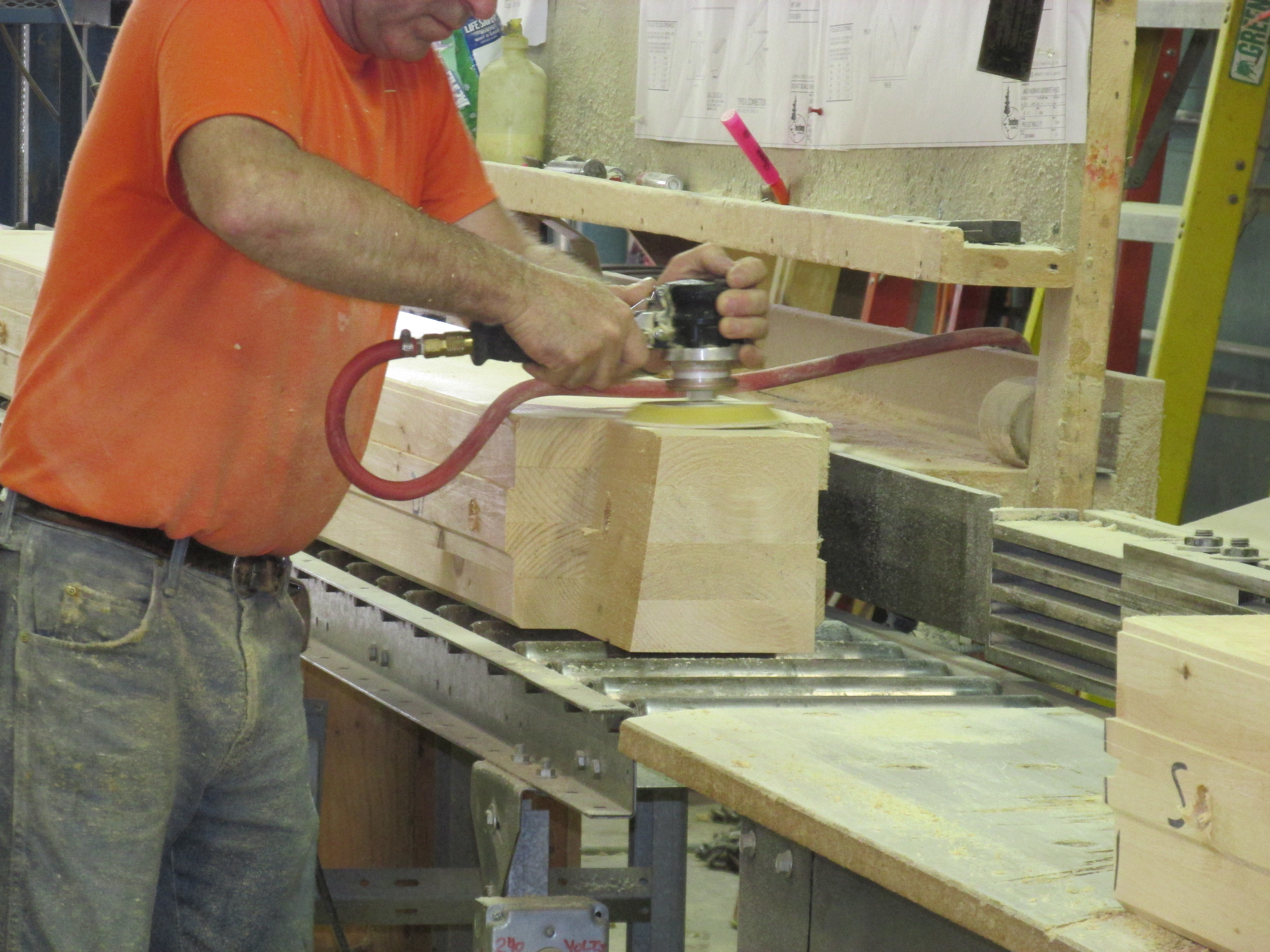 Custom Built Log Home - Part 2 - Manufacturing