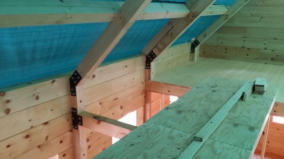 Log Home Construction Part 5 Custom Built Log Homes