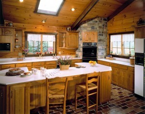 roof systems, pre-fab truss, decorative beam, Timberhaven Log Homes, kiln dried, laminated, log cabin