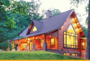 perfected dream log home, Timberhaven, Pleasant Grove model, log homes, custom built, laminated, kiln-dried, log cabin home kits, planning