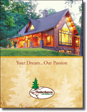 Request Timberhaven's Free Log Home Brochure!