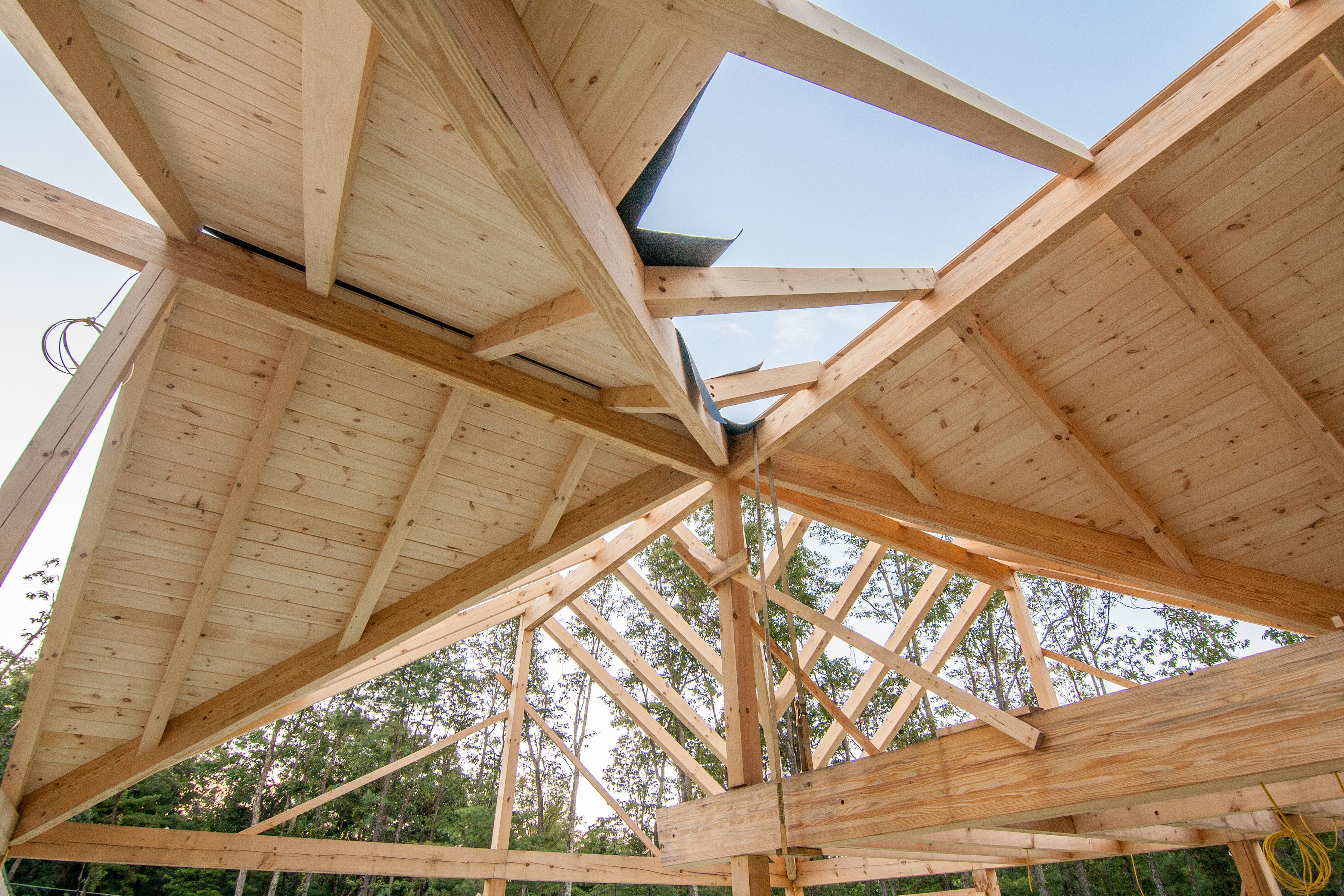 Post and Beam Homes: Under Construction - Part 5