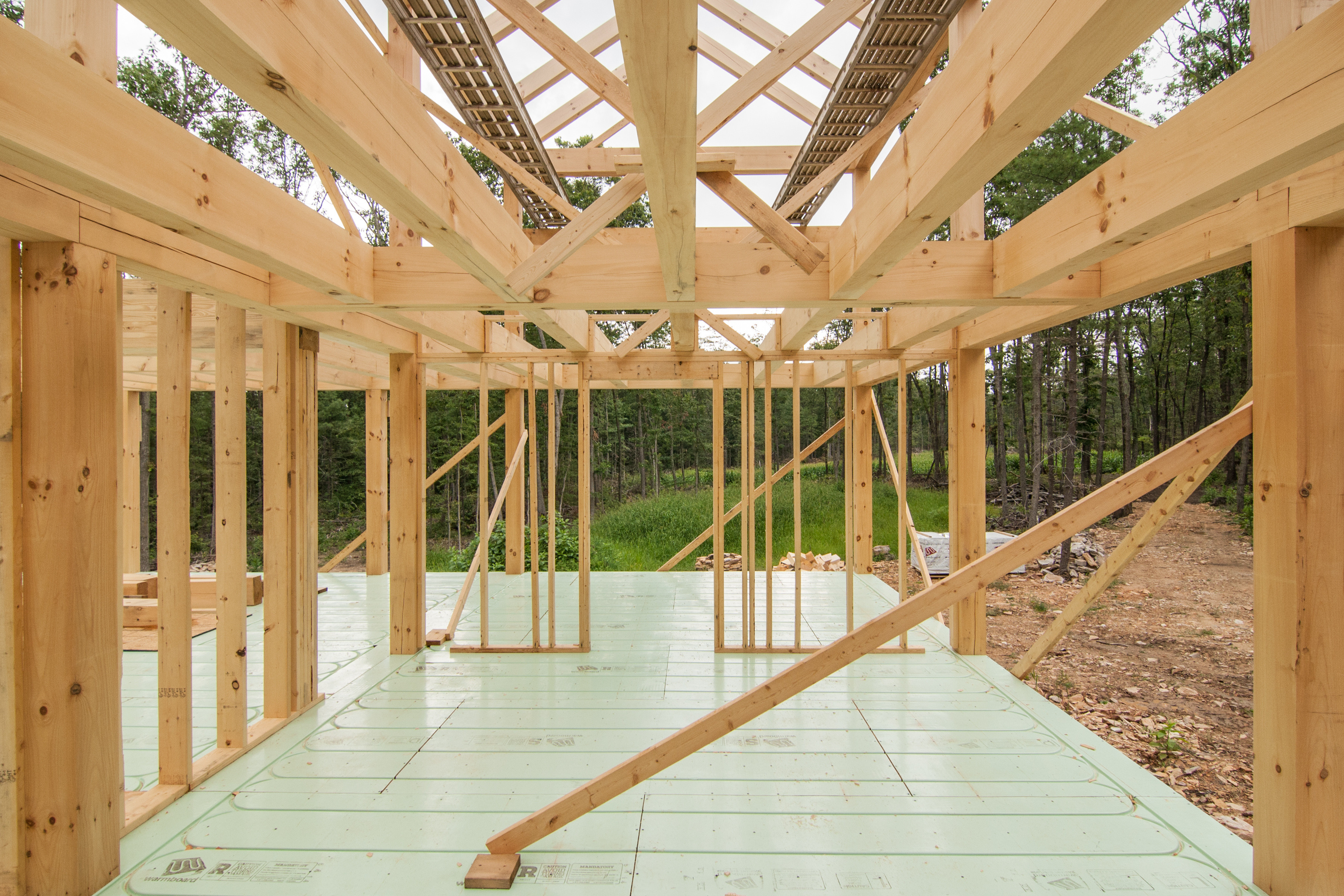 Post And Beam Home Construction Part 3