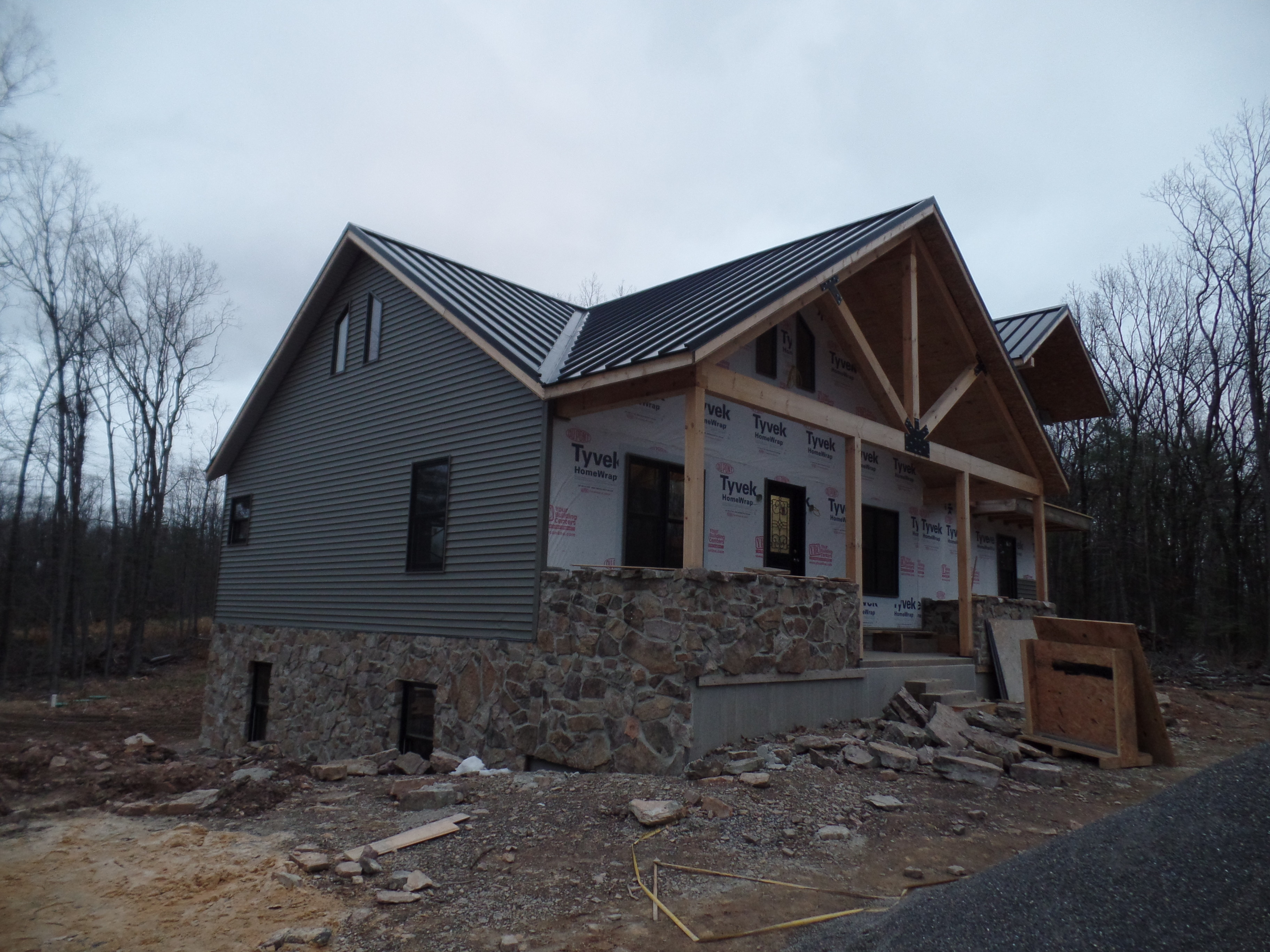 Custom Post and Beam Home - Under Construction: Part 12