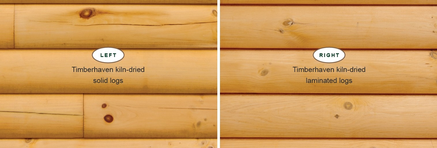 Scientifically Speaking: Kiln-Dried Laminated Logs