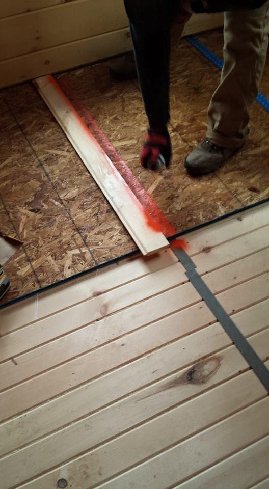 11174884_956331284406908_6718574931855961443_n installing electrical wiring in a log home