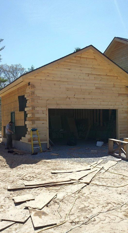 Kiln Dried Log Siding By Timberhaven