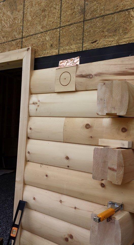 Kiln Dried Log Siding By Timberhaven