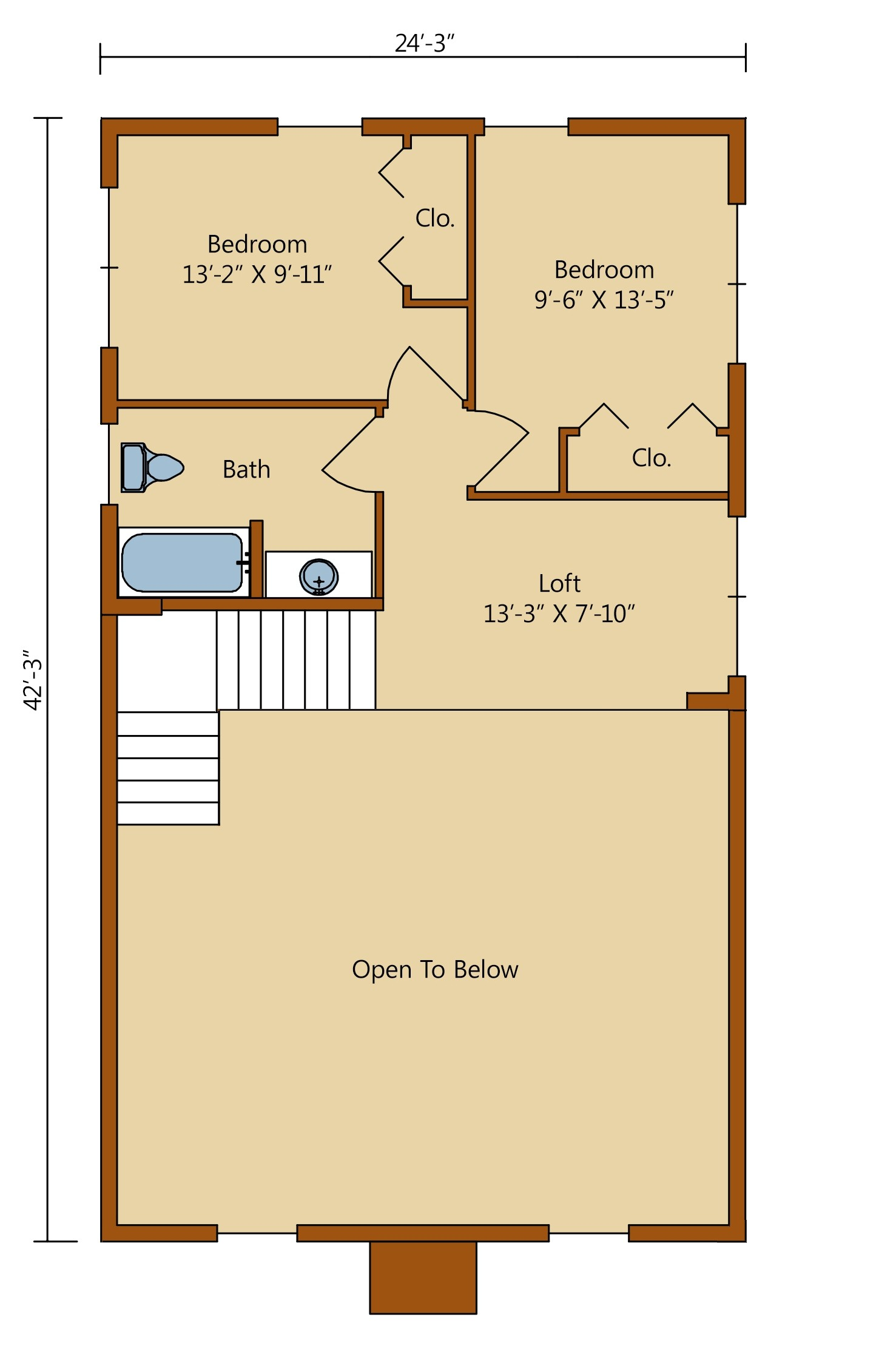 ... Cheyenne Second Level Floor Plan, Timberhaven Log Homes, Log Homes, Log  Cabin Homes