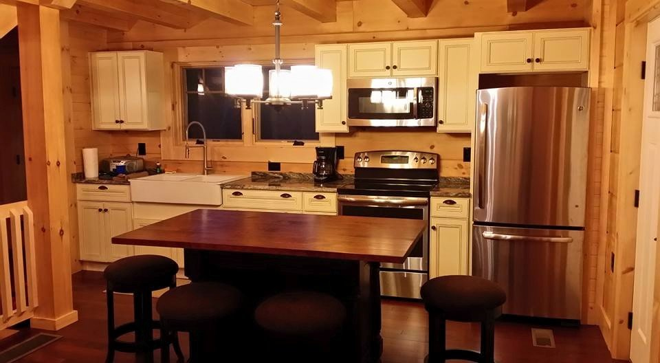 Under Construction: Log Home Kitchen U2013 Part 2