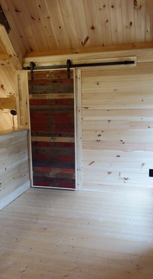 Exterior: Log Home Under Construction: Interior Finishes