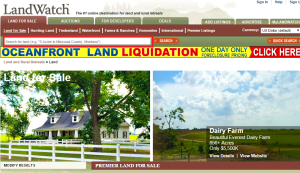 landwatch.com homepage, finding the right land, Timberhaven Log Homes, Timberhaven Log & Timber Homes, log homes, log cabin homes, log cabins, post and beam homes, timberframe homes, timber frame homes, laminated logs, engineered logs, floor plan designs, kiln dried logs, Timberhaven local reps, log homes in PA