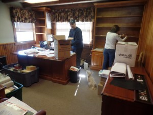 people packing up files, office relocation, log homes, log cabin homes, log cabins, post and beam homes, timberframe homes, timber frame homes, laminated logs, engineered logs, floor plan designs, kiln dried logs, Timberhaven local reps, log homes in Pennsylvania, log homes in PA, Timberhaven Log Homes, Timberhaven Log & Timber Homes
