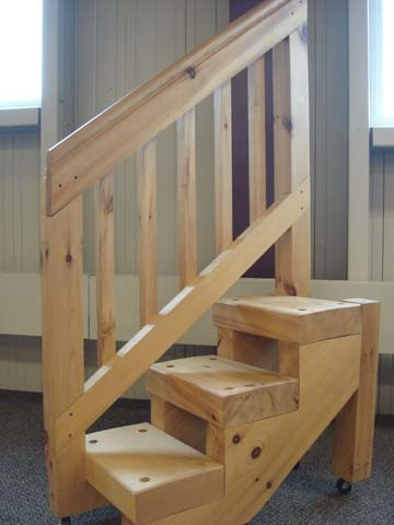 Stare At Your Stairs Non Traditional Wooden Stair System