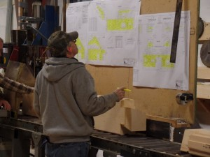 verifying quality assurance, delivery day, log homes, log cabin homes, log cabins, post and beam homes, timberframe homes, timber frame homes, laminated logs, engineered logs, floor plan designs, kiln dried logs, Timberhaven local reps, log homes in Pennsylvania, log homes in PA, Timberhaven Log Homes, Timberhaven Log & Timber Homes