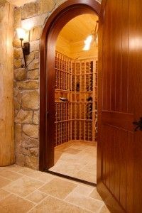 wine room in log home, Indoor entertainment areas, log homes, log cabin homes, log cabins, post and beam homes, timberframe homes, timber frame homes, laminated logs, engineered logs, floor plan designs, kiln dried logs, Timberhaven local reps, log homes in Pennsylvania, log homes in PA, Timberhaven Log Homes, Timberhaven Log & Timber Homes