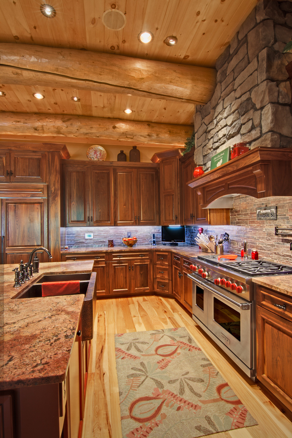 Innovative Kitchen Appliances for Your New Log Home