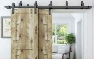 rustic barn doors with black hardware, Barn doors add distinct style, log homes, log cabin homes, log cabins, post and beam homes, timberframe homes, timber frame homes, laminated logs, engineered logs, floor plan designs, kiln dried logs, Timberhaven local reps, log homes in Pennsylvania, log homes in PA, Timberhaven Log Homes, Timberhaven Log & Timber Homes