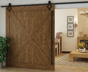 large barn door in home design, Barn doors add distinct style, log homes, log cabin homes, log cabins, post and beam homes, timberframe homes, timber frame homes, laminated logs, engineered logs, floor plan designs, kiln dried logs, Timberhaven local reps, log homes in Pennsylvania, log homes in PA, Timberhaven Log Homes, Timberhaven Log & Timber Homes