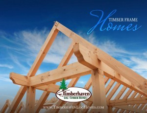 timber frame frame with bright blue sky, Custom timber frame home, log homes, log cabin homes, log cabins, post and beam homes, timberframe homes, timber frame homes, laminated logs, engineered logs, floor plan designs, kiln dried logs, Timberhaven local reps, log homes in Pennsylvania, log homes in PA, Timberhaven Log Homes, Timberhaven Log & Timber Homes