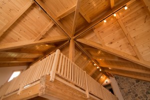 timber frame ceiling, Custom timber frame home, log homes, log cabin homes, log cabins, post and beam homes, timberframe homes, timber frame homes, laminated logs, engineered logs, floor plan designs, kiln dried logs, Timberhaven local reps, log homes in Pennsylvania, log homes in PA, Timberhaven Log Homes, Timberhaven Log & Timber Homes