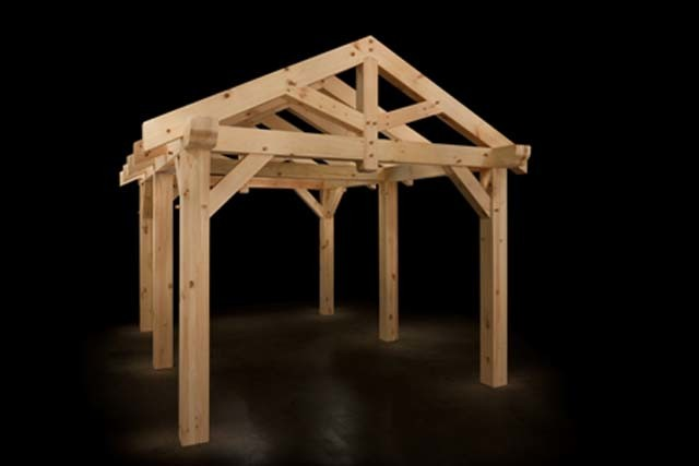 Custom Timber Frame Pavilion Now Available At Timberhaven