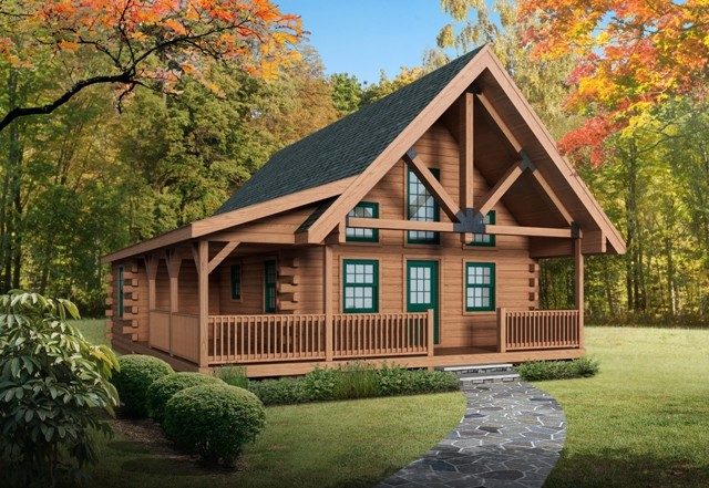 Eagle Rock Log Home Package Timberhaven Log Timber Homes