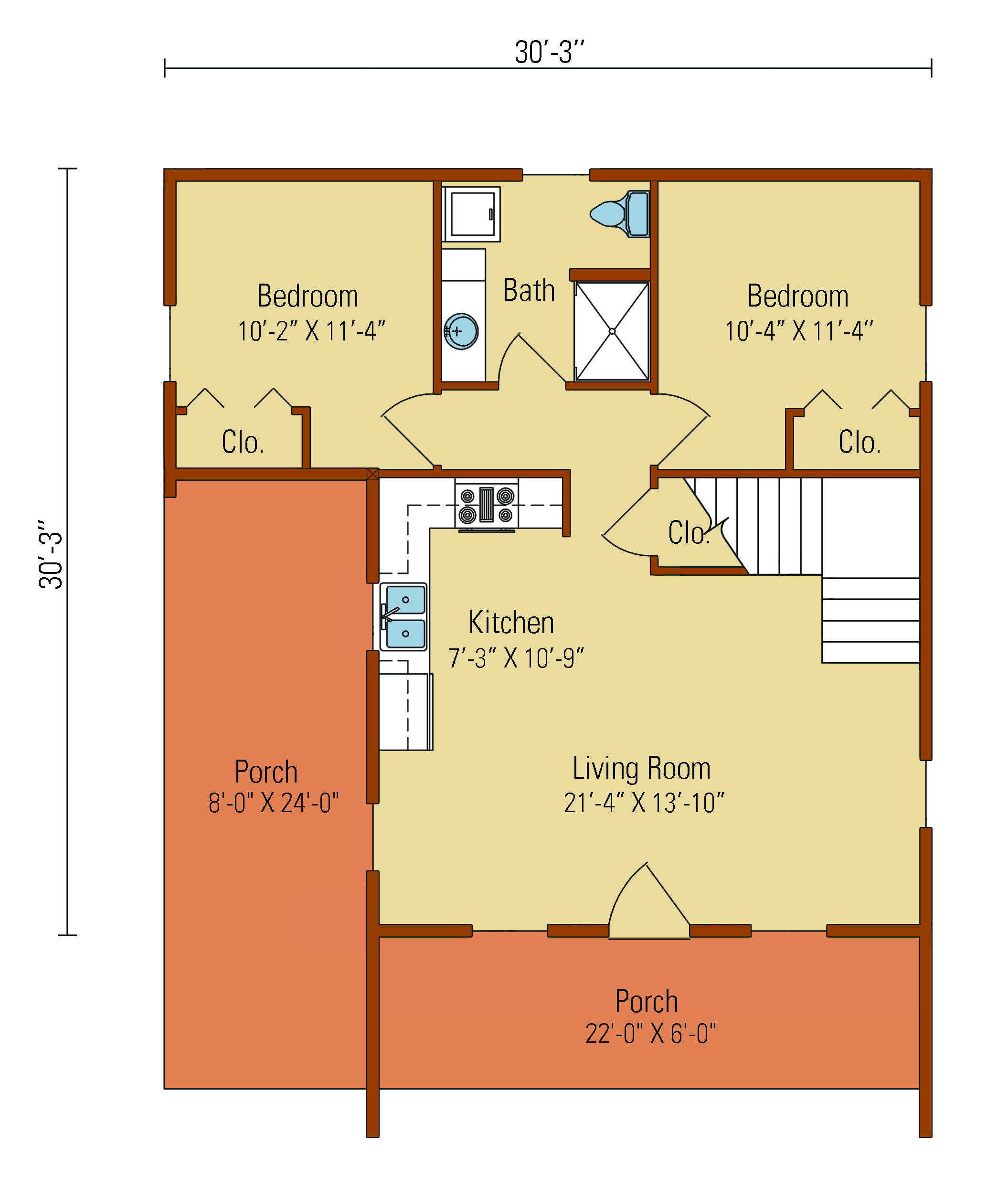 7 bedroom log cabin floor plans for 5 bedroom log home plans