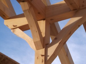 timbers joined together with wooden pegs, timber frame homes, log homes, log cabin homes, log cabins, post and beam homes, timberframe homes, timber frame homes, laminated logs, engineered logs, floor plan designs, kiln dried logs, Timberhaven local reps, log homes in Pennsylvania, log homes in PA, Timberhaven Log Homes, Timberhaven Log & Timber Homes