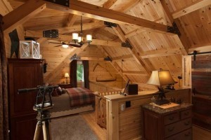loft area of log home with trusses, log cabin homes feature, log homes, log cabin homes, log cabins, post and beam homes, timberframe homes, timber frame homes, laminated logs, engineered logs, floor plan designs, kiln dried logs, Timberhaven local reps, log homes in Pennsylvania, log homes in PA, Timberhaven Log Homes, Timberhaven Log & Timber Homes
