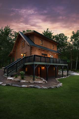 Log Cabin Homes Hit The Newsstands