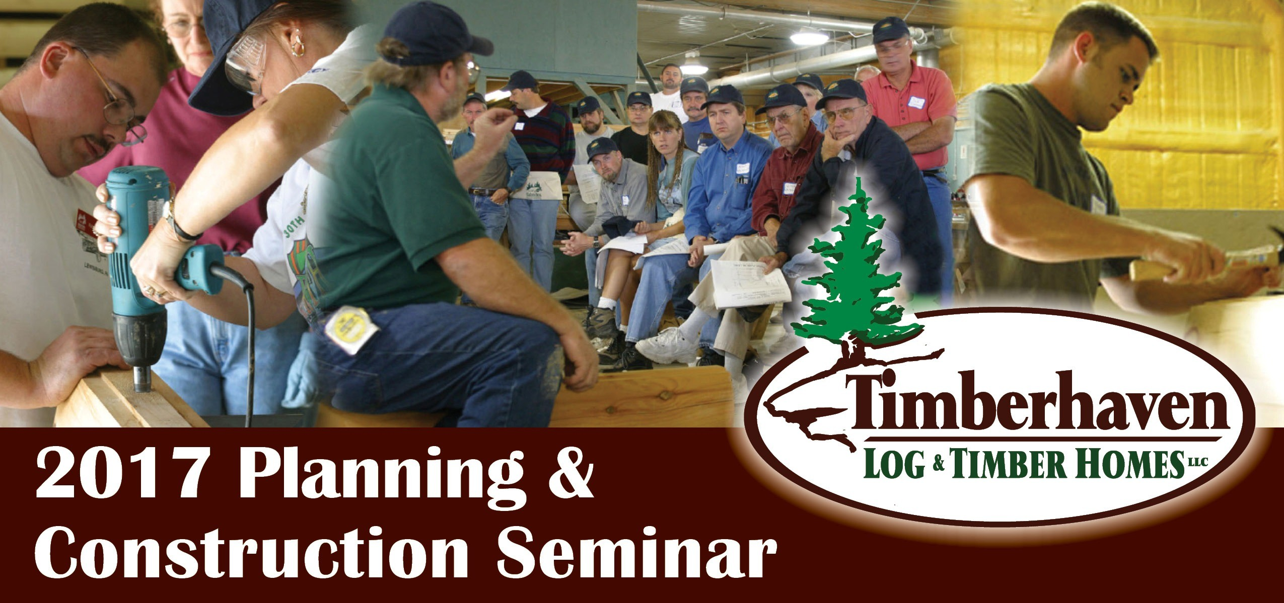 Another Successful Log Home Planning Seminar by Timberhaven