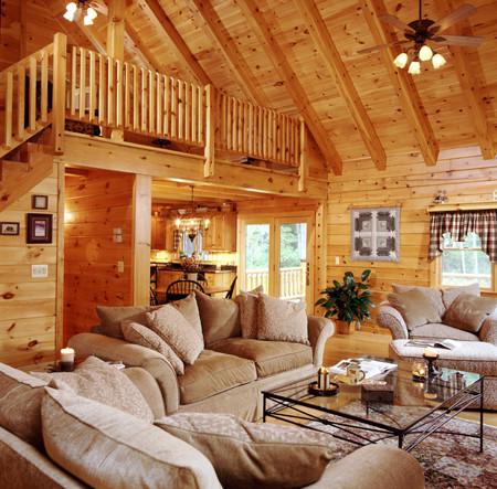 roof system for log home dream home budget log homes log cabin homes - Design A Dream Home