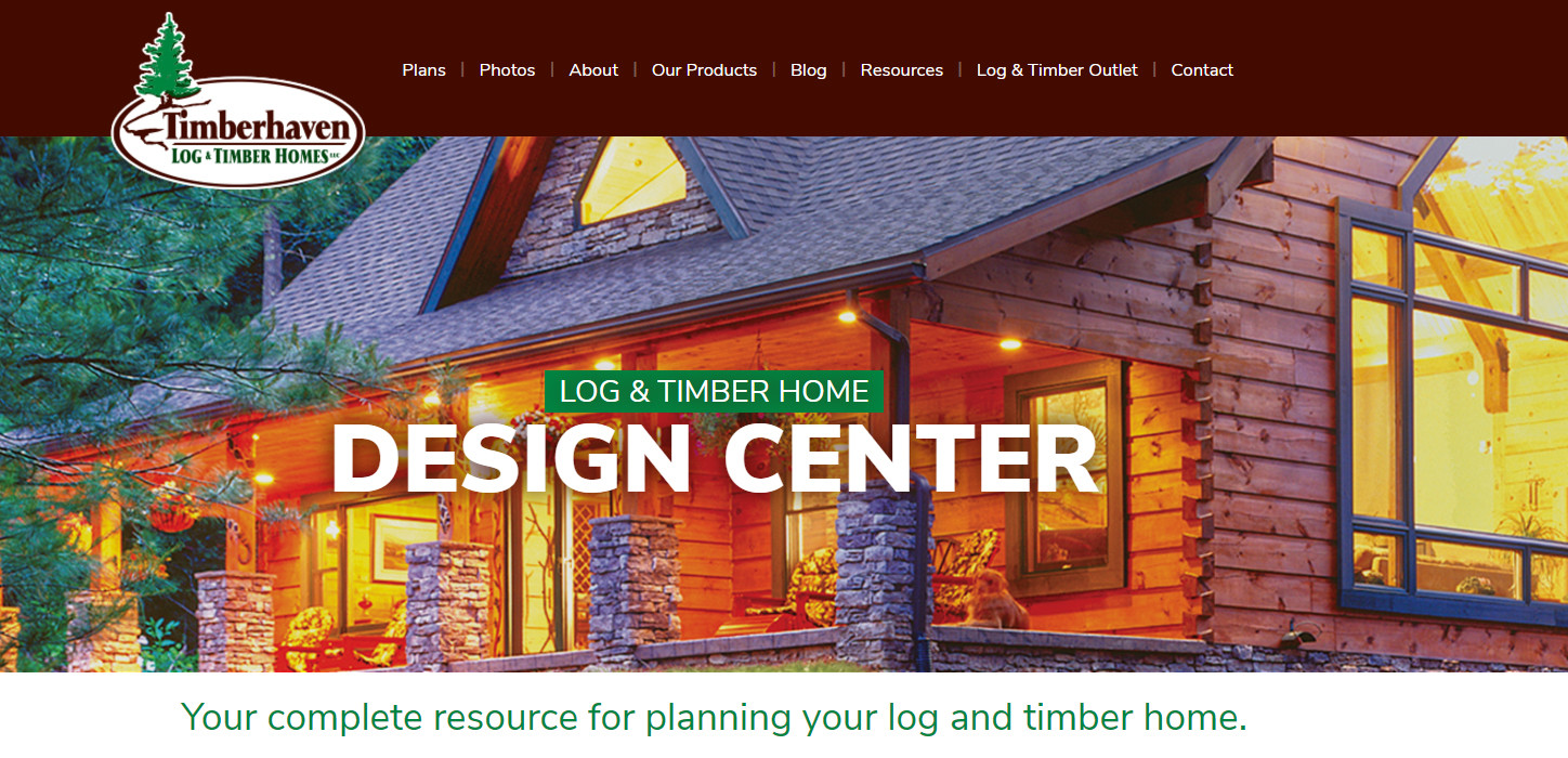 timber home designs. New Log Home Design Center Website  Get Started Today Announcing Launch of