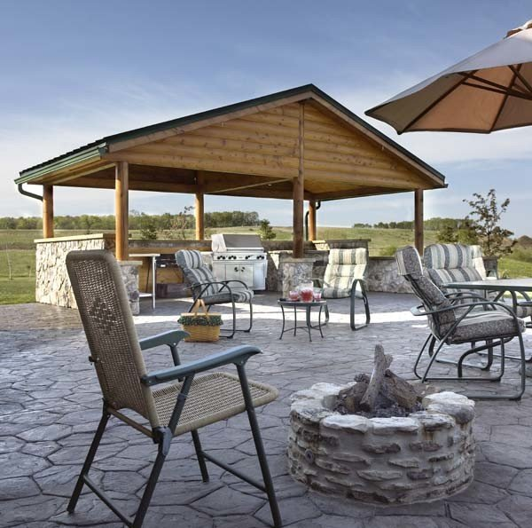 Timber Outdoor Living: Outdoor Timber Structure For Your Outdoor Living Area