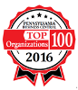 Pennsylvania Business Central's Top 100 Organizations Logo