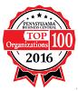 Pennsylvania Business Central's Top 100 Organizations Logo