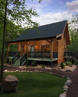 Special Log Cabin Homes Feature