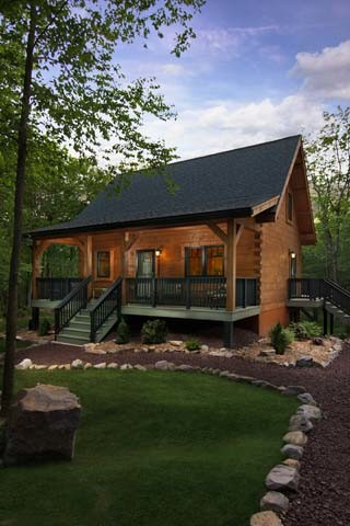 Bon Into The Woods: A Magazine Feature By Log Cabin Homes