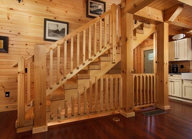 Country Chic Log Home Tour Timberhaven Log Amp Timber Homes