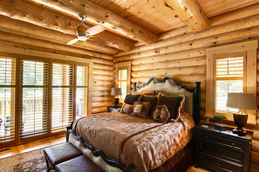 Grand Lodge Log Home Tour - Timberhaven Log & Timber Homes