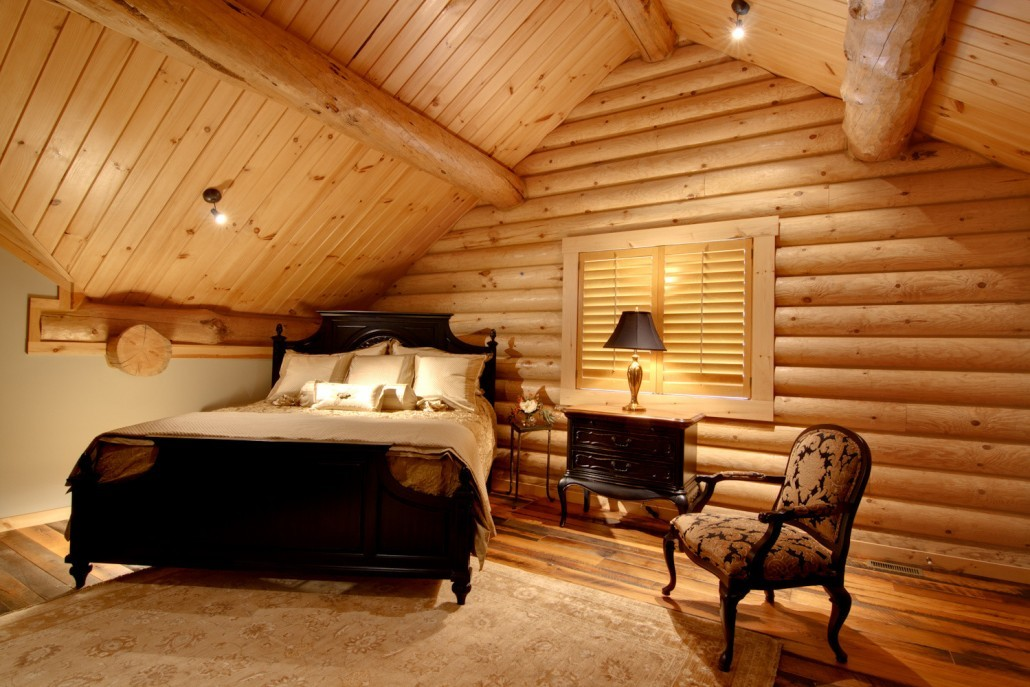 Bedrooms & Baths - Timberhaven Log & Timber Homes