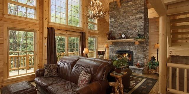 Log home living magazine features timberhaven log home for Log home magazines
