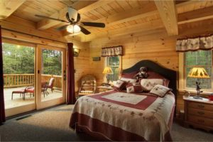 Master Suite Features Private Deck