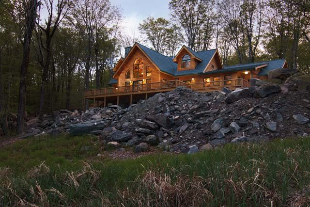 Log Home Living Magazine Features Timberhaven Log Home