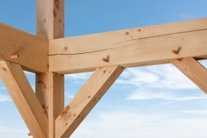 timber frame framework for house, differences, log vs. timber frame homes, different home design options, log homes, log cabin homes, log cabins, post and beam homes, timberframe homes, timber frame homes, laminated logs, engineered logs, floor plan designs, kiln dried logs, log homes in PA, Timberhaven Log Homes, Timberhaven Log & Timber Homes