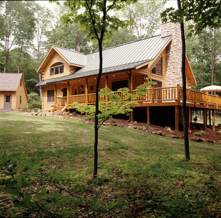 log cabin home designs.  log home with wrap around deck solid differences vs The between a or timber frame