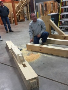 timber frame demonstration, annual meeting, log homes, log cabins, timber frame homes, laminated logs, engineered logs, floor plan designs, kiln dried logs, log homes in Pennsylvania, Timberhaven Log Homes, Timberhaven Log & Timber Homes