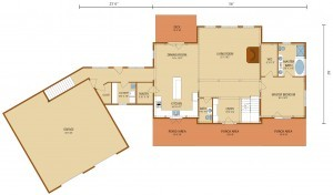 first floor plan legacy timber frame, legacy timber frame design, log homes, log cabins, timber frame homes, laminated logs, engineered logs, floor plan designs, kiln dried logs, log homes in Pennsylvania, Timberhaven Log Homes, Timberhaven Log & Timber Homes