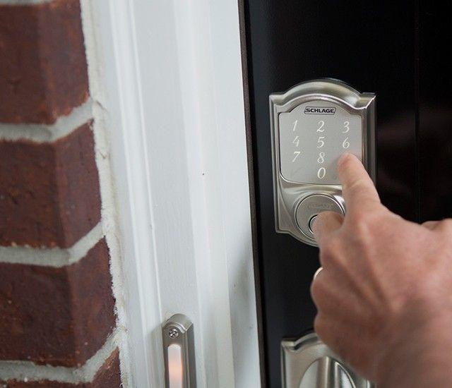 Schlage Electronic Locks Smart Deadbolt Opens Up Keyless